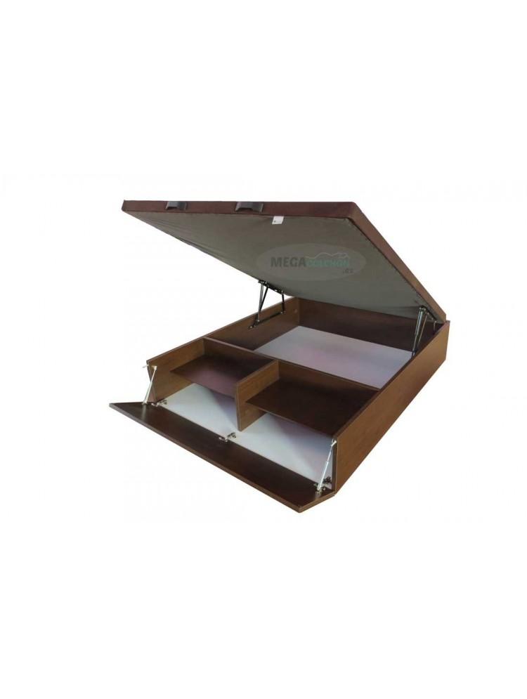 Canapé abatible madera zapatero-megacolchon